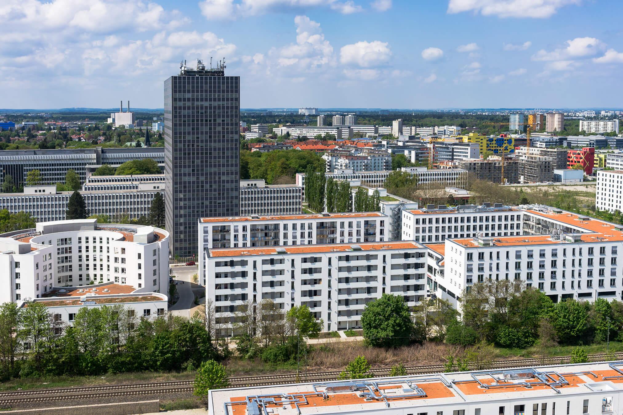 Luftbild München Obersendling