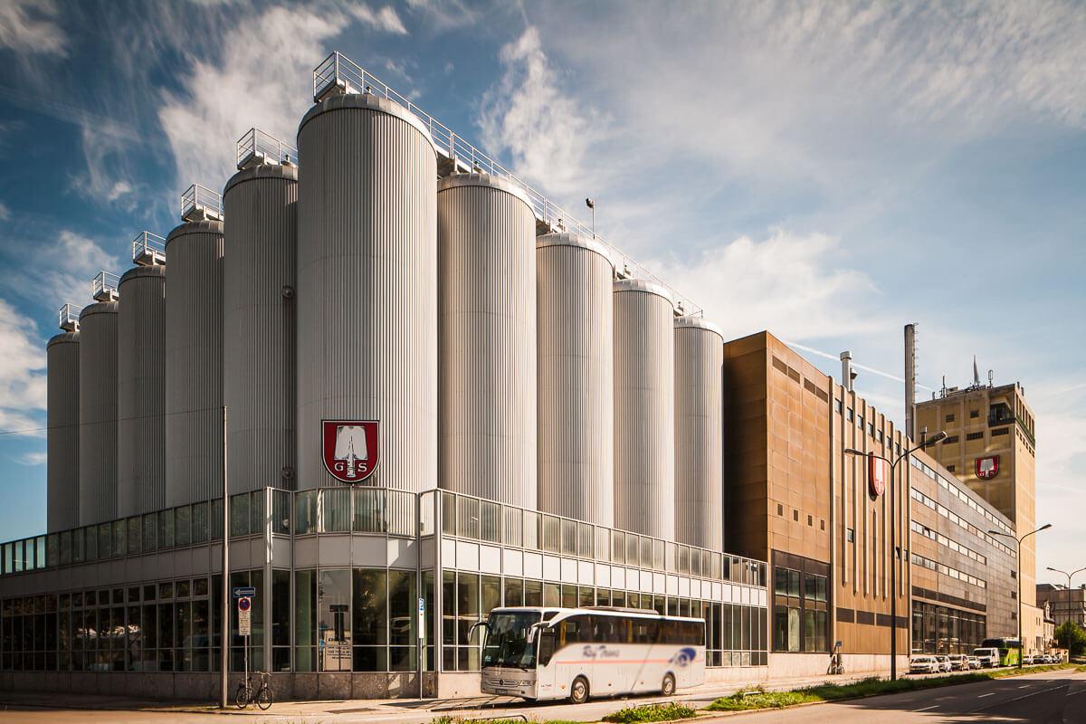 Architekturfoto Brauereigebäude München