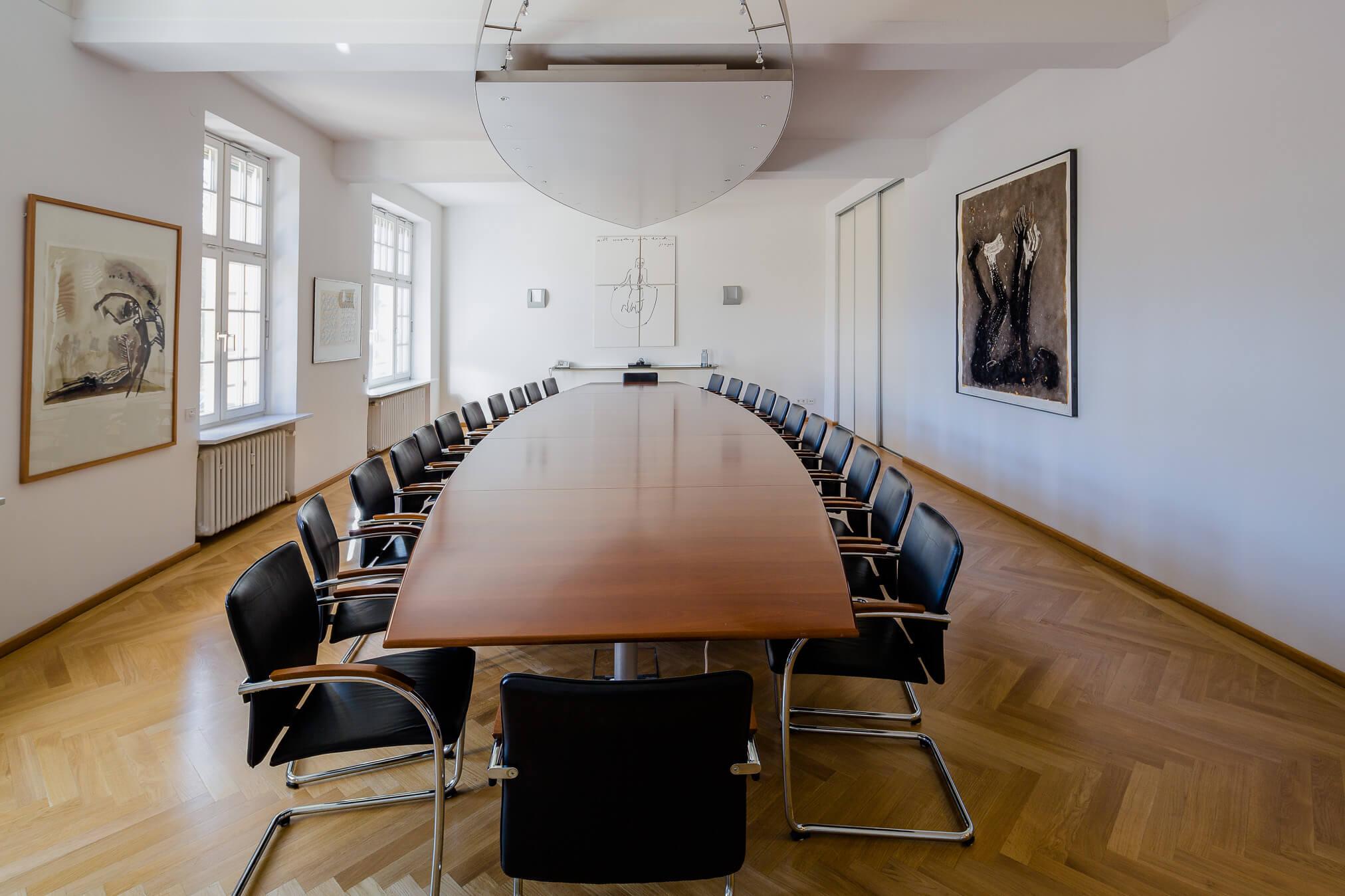 Raum für Besprechungen