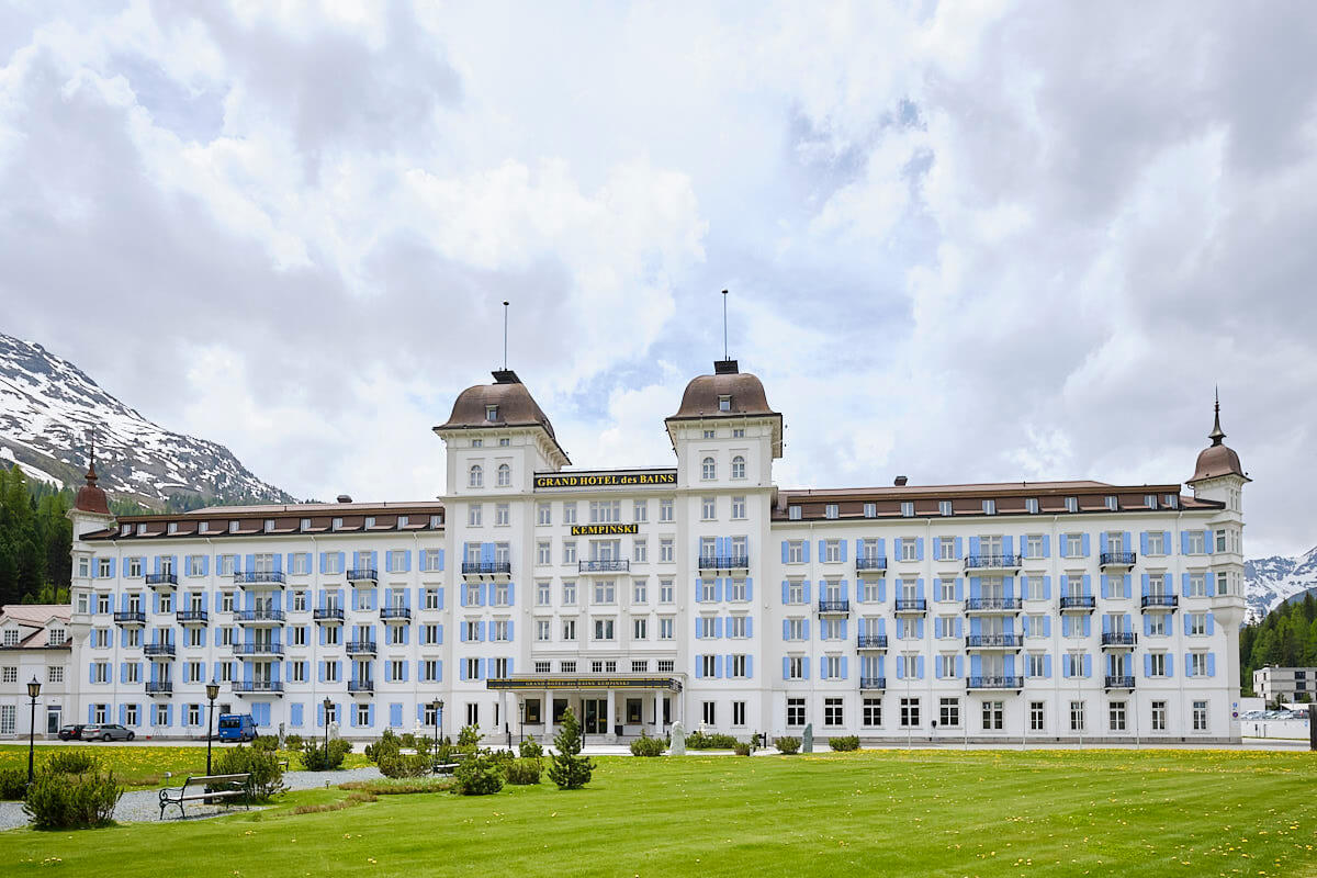 St. Moritz Grand Hotel des Bains