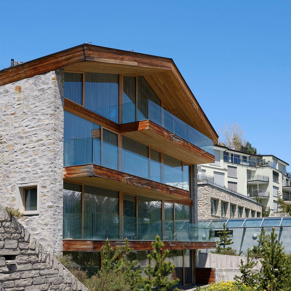 Architekturfotografie St. Moritz