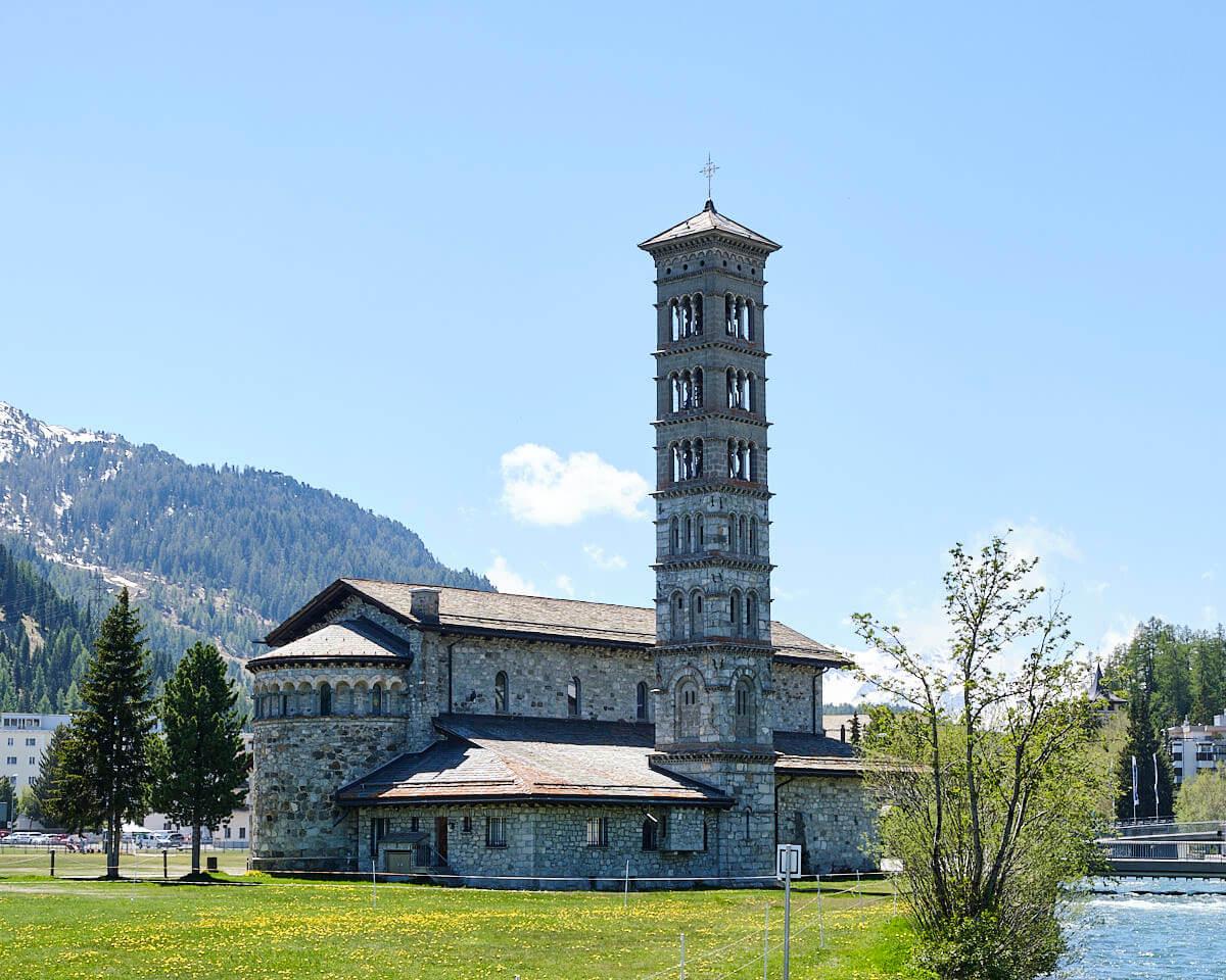Architekturfoto St. Moritz Kirche St. Karl Borromäus