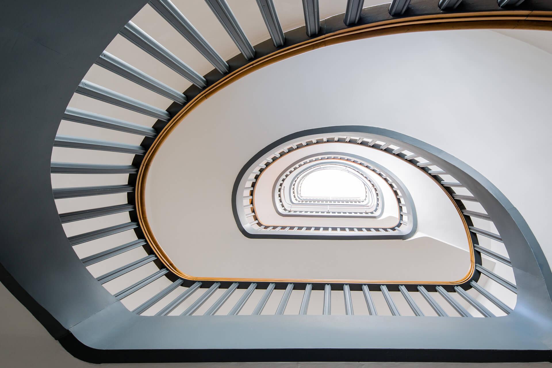 stilvolle Treppenhäuser