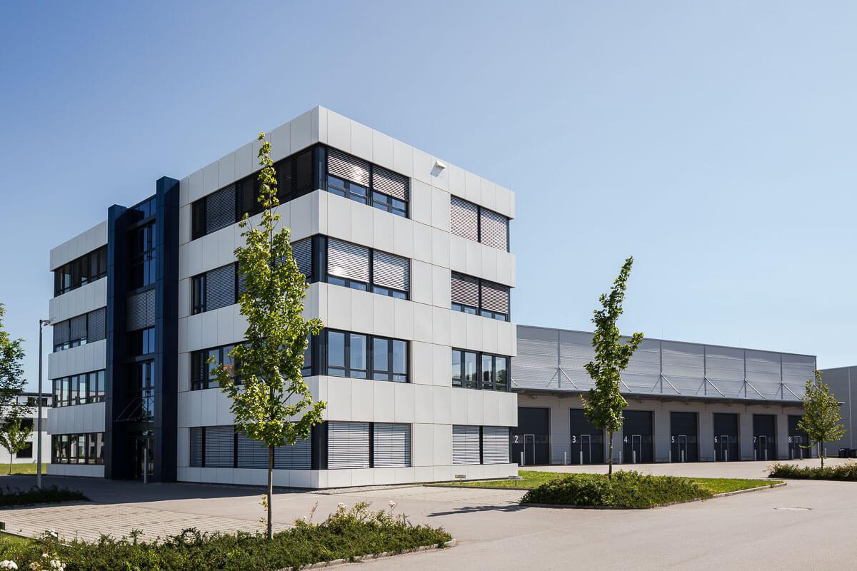 Architekturfotografie Gewerbepark Inning