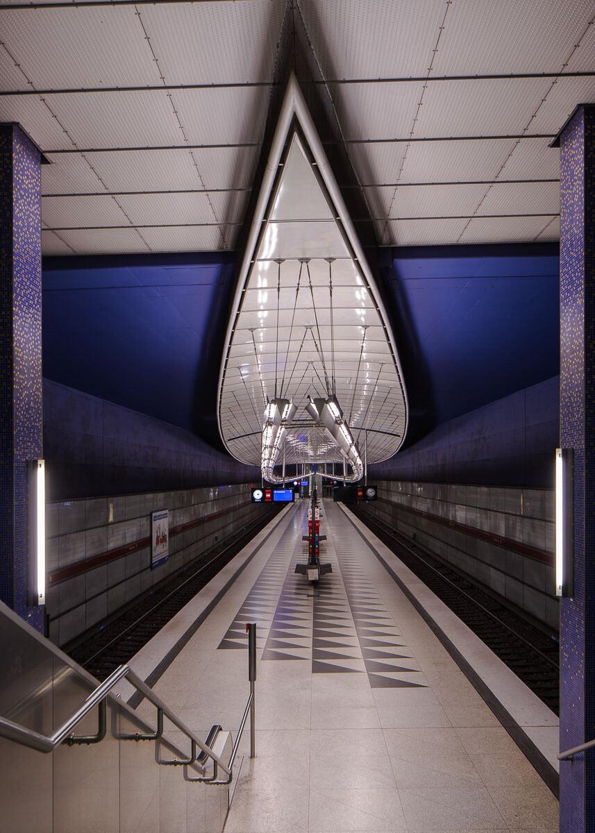 U-Bahn Station Hasenbergl