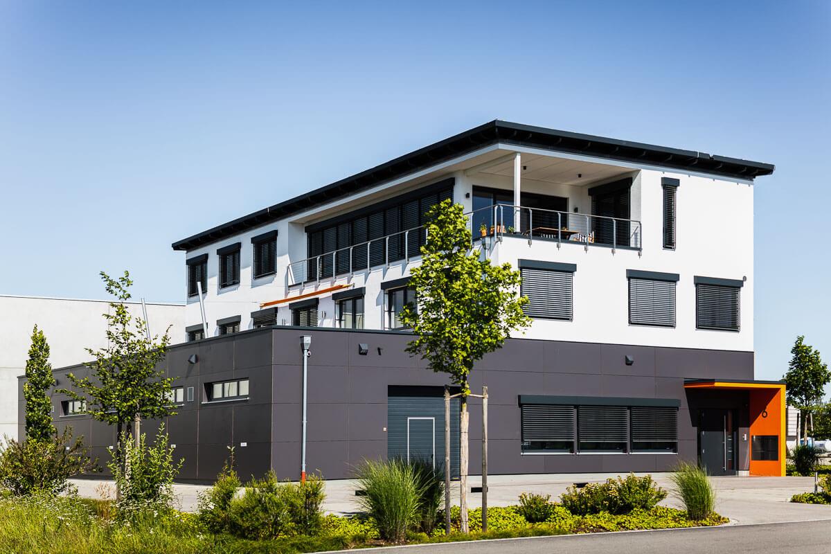 Architekturfoto Inning Gewerbepark