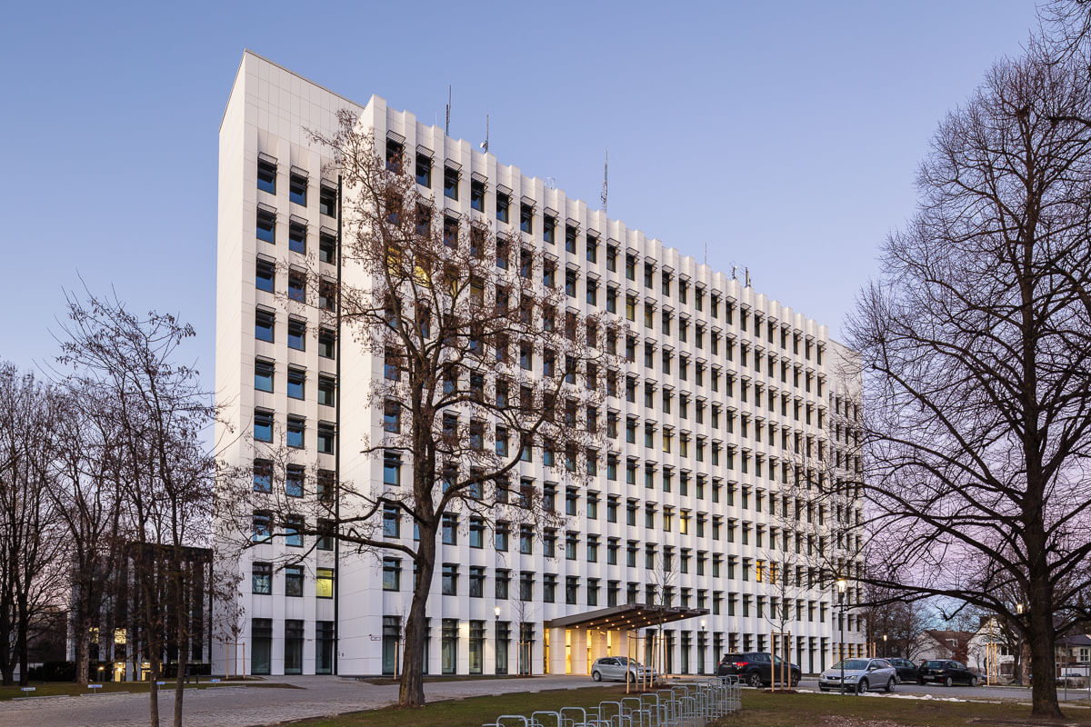 Architekturlfoto Berufsgenossenschaft Bau München